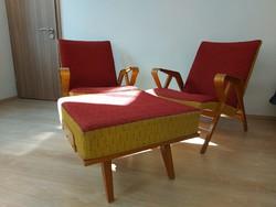 Mid-century tatra nabytok armchair retro armchair