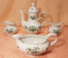 Together with 4 pieces of seltmann weiden porcelain pouring set, in perfect condition!
