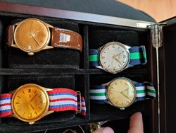Doxa, junghans and cornavin are about 36 mm each.