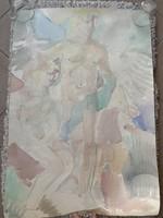 Ismeretlen festő: Akt