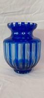 Antique polished, peeled, pickled glass vase