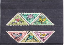 Mongolia traffic stamps 1961