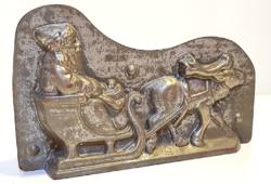 Nagyon ritka, antik csoki öntőforma