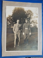 Old military photo. World War I.
