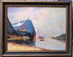 J Holmstedt: Fjord 20-ik század első fele