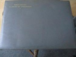 Gyűjtök figyelem 9 db rézkarc/40x30 cm/ a III ötéves terv /1966/meg és nem valósult meg épitményeii