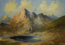 Unknown painter (first half of the 20th century): mountainous