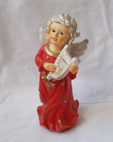 Gilded putto, angel table ornament, Christmas decoration