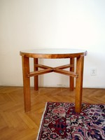 Round table, table