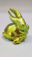 Zsolnay eosin glazed rabbit, bunny