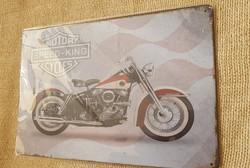 Vintage stílusú Motoros Tábla