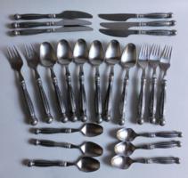 Berndorf antique cutlery set in 18/10 steel
