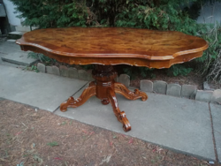 Wonderful baroque dining table, dining table for 6 people