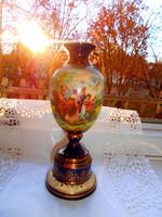 Antique scene vase