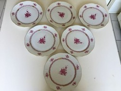 Herend apponyi patterned plates