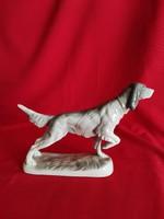 Glazed faience puppy!