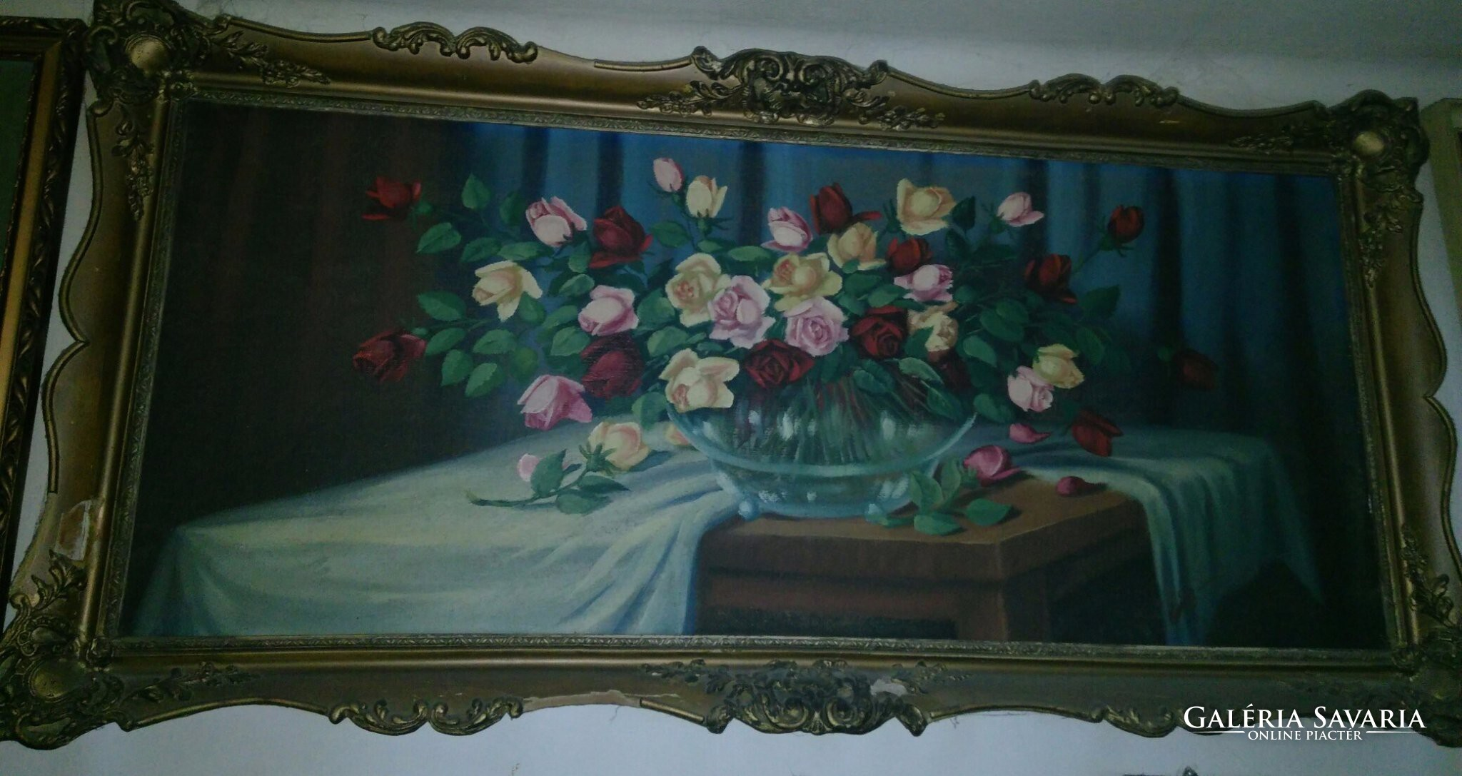 Nagyméretű Rózsás csendélet 824a3a4061