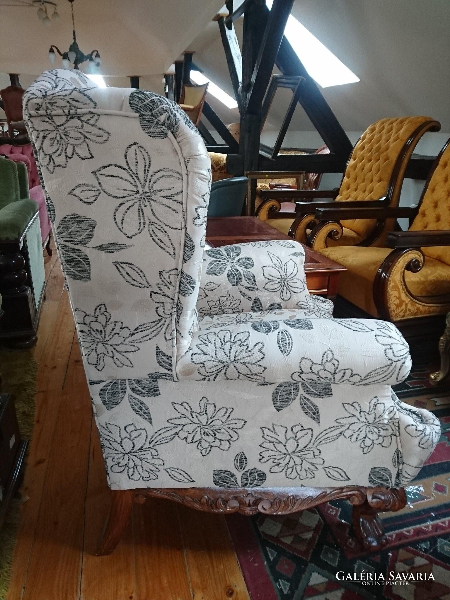Fantasztikus Füles fotel ( REGINA) Új kárpit - Bútor  45da535c86