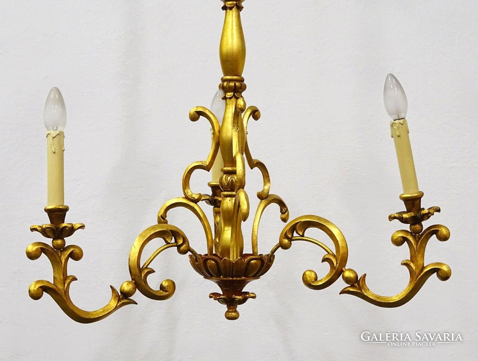 Antik fa csillár Lámpa, csillár   Galéria Savaria online piactér