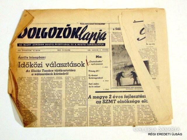 1969 január 31 / DOLGOZÓK LAPJA / SZÜLETÉSNAPRA RÉGI ...