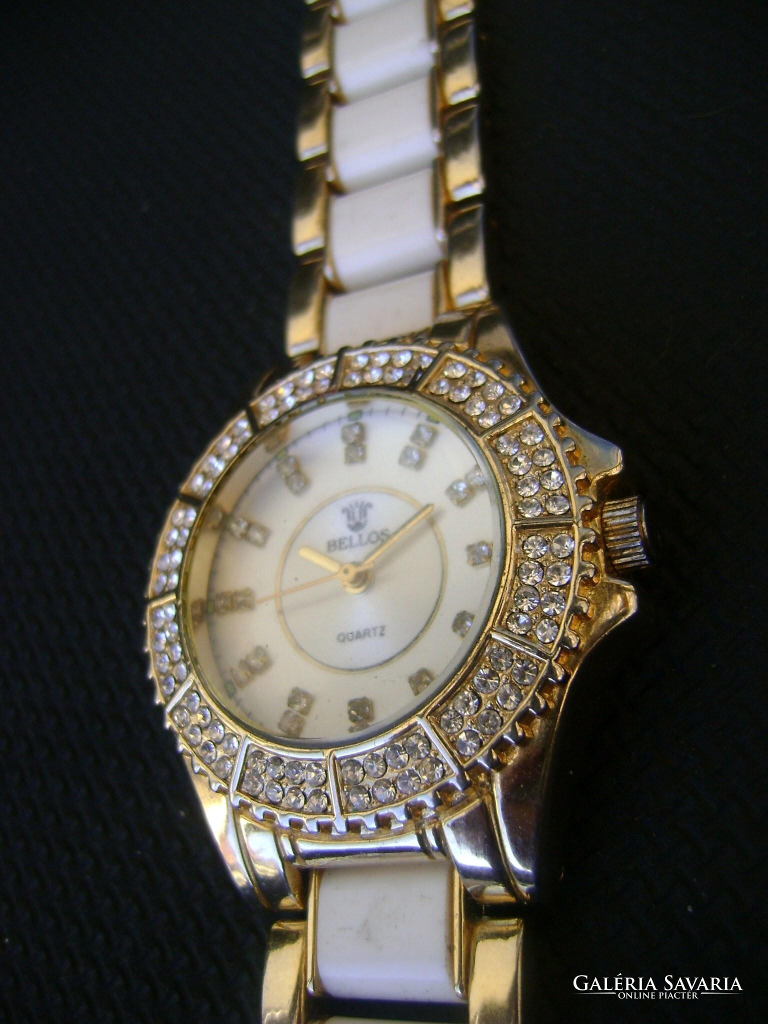 Nagy méretű NŐI luxus óra swarovski kövekkel díszíve eredeti.....3 2d47ff1347