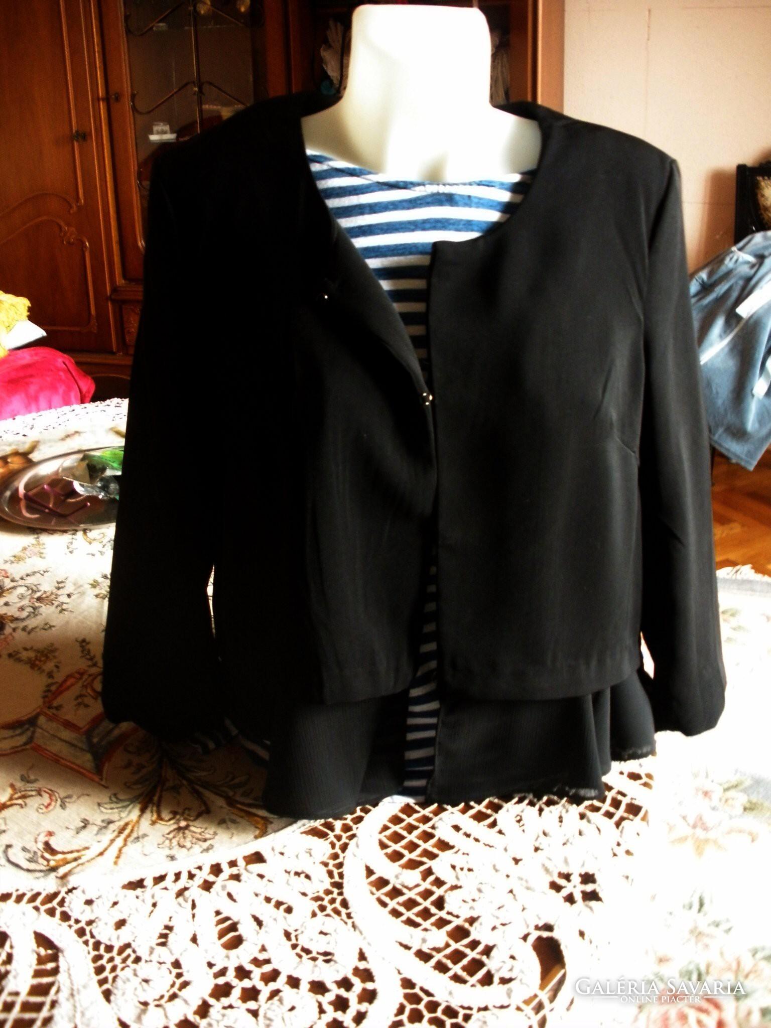 e213d85006 Fekete csodás blézer - Gardrób | Galéria Savaria online piactér - Antik ...