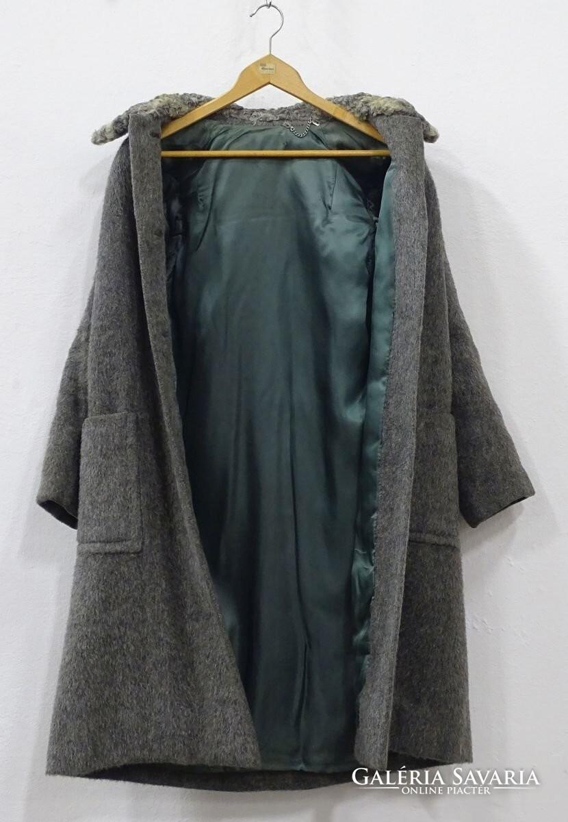 0U792 Szürke női gyapjúkabát - Wardrobe  2cfab2ea14