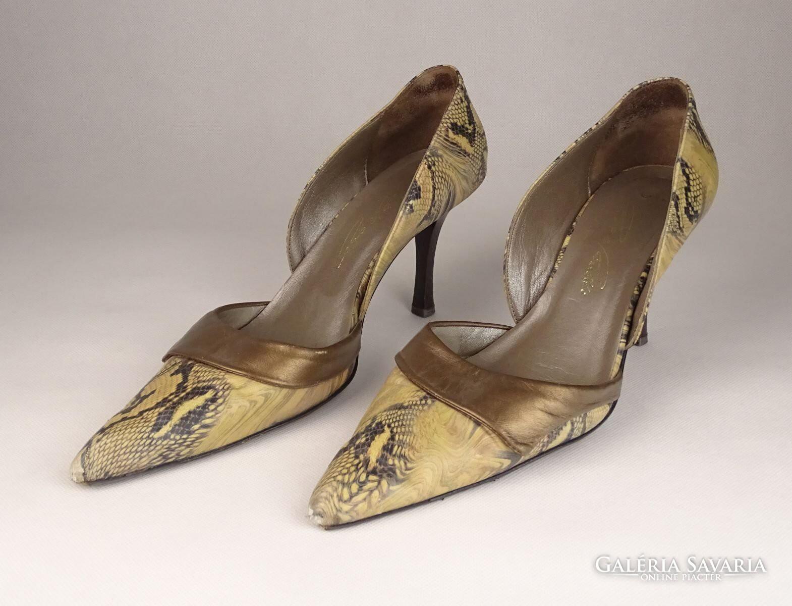 0V540 Kígyóbőr mintás Cango Rinaldi női cipő 38-as - Gardrób ... 67f9a9a72a