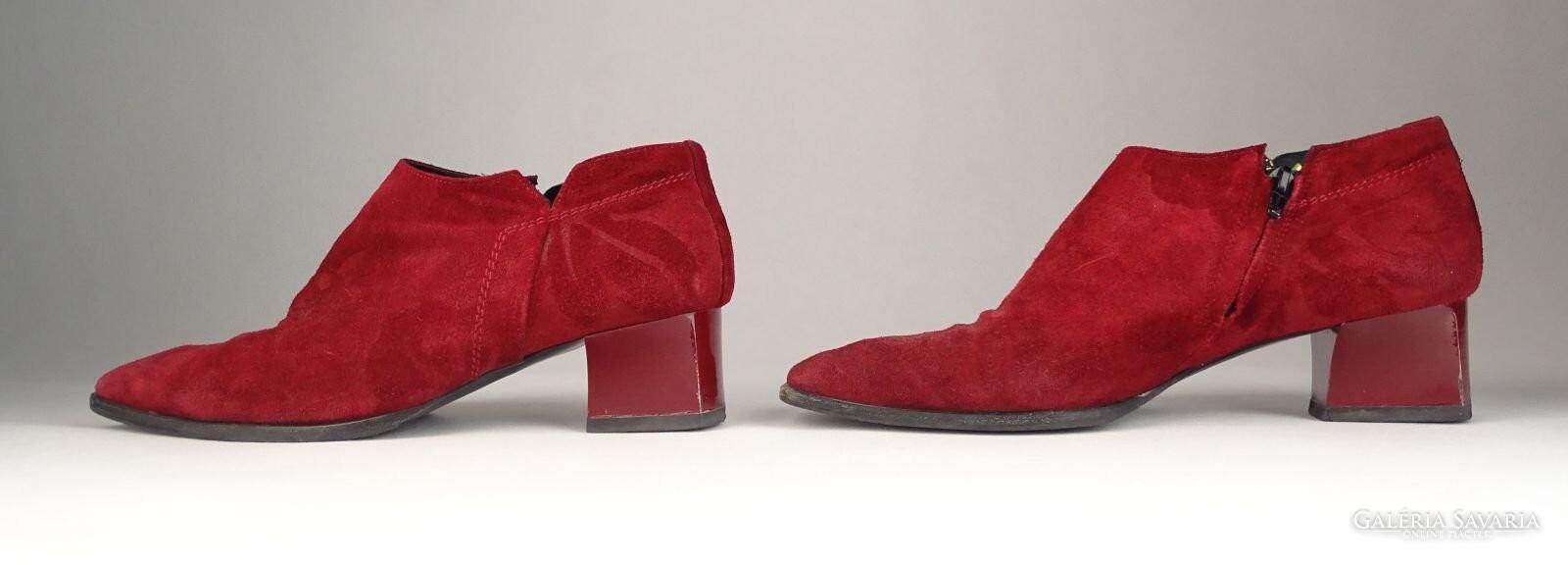 0V554 Bordó Cango Rinaldi női velúr cipő 39-es - Gardrób  5cd87c6bb5