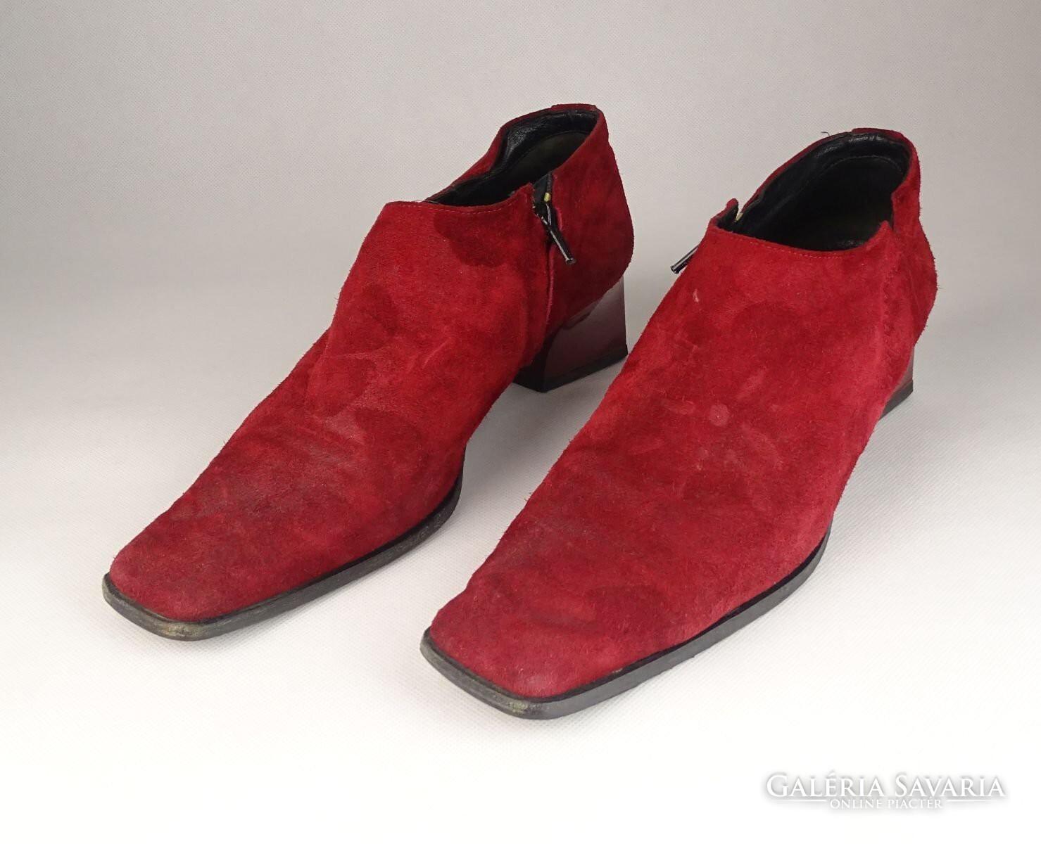 e3d4f4846ae0 0V554 Bordó Cango Rinaldi női velúr cipő 39-es - Gardrób   Galéria ...