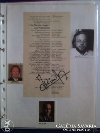 Signs of Hires opera singers Collectibles | Galeria